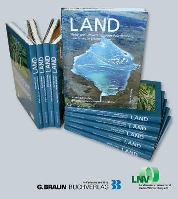 Buchcover mit Logos vom G. Braun-Verlag und dem LNV