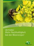 Mehr Nachhaltigkeit bei der Bioenergie
