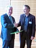 LNV-Ehrennadel für Reiner Ehret