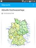 Hochwasse-App