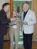 LNV-Ehrennadel für Naturfreund Werner Kästle