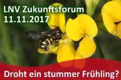 Zukunftsforum Naturschutz: Droht ein stummer Frühling?